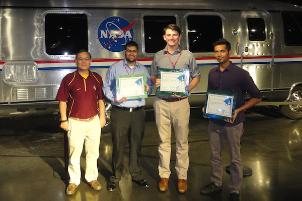 ASU team wins second place award at Intel-Cornell Cup competition
