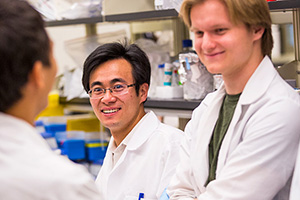 Promising biomedical research earns Wu prestigious fellowship