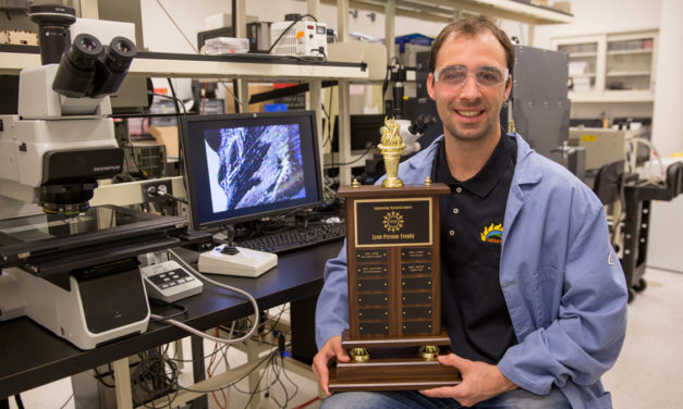 QESST Scholar wins NSF Perfect Pitch Competition