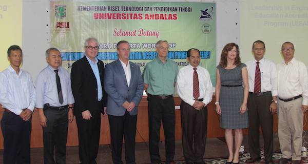 ASU teams with USAID HELM to launch Leadership Education for Engineering Accreditation Program at Andalas University in Indonesia