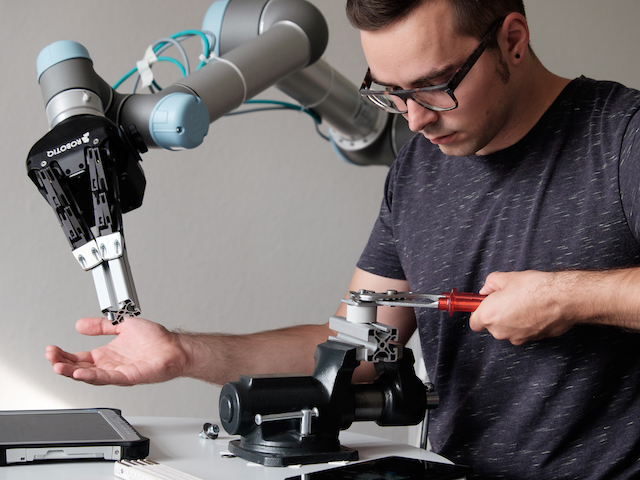 Heni Ben Amor, an assistant professor computer science and engineering, is working to make advances in human-robot collaboration and on identifying the importance of such collaborations.