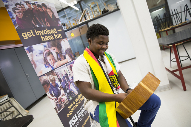 Zimbabwean engineering student motivated by passion for social entrepreneurship