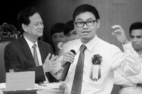 PM Nguyen Tan Dung and Nguyen Ba Hai