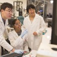 A prestigious National Science Foundation award will aid Ximin He's quest to help make environmental safety and medical advances by mimicking human biological capabilities.