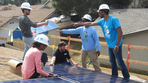 A solar-powered San Diego spring break