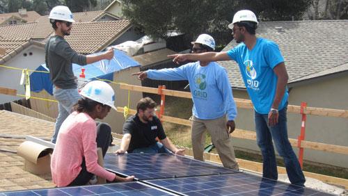 A solar-powered San Diego spring break