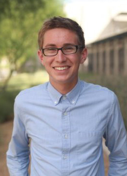 Eric Arellano, Flinn Scholar and computer science freshman. Photo courtesy of Eric Arellano