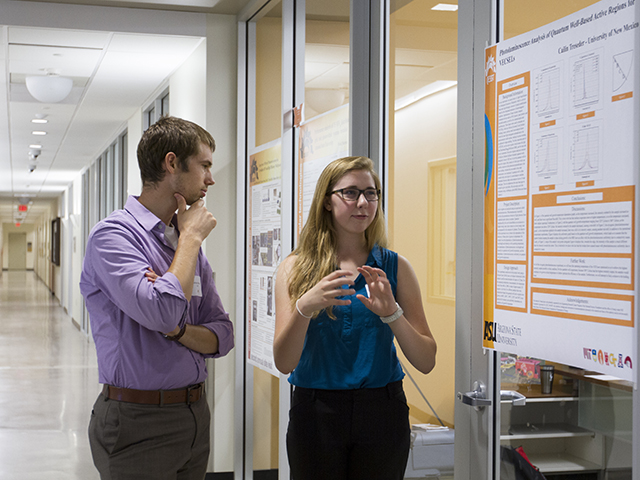 NSF-funded site looks to inspire next generation of bright researchers