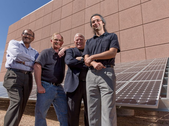 ASU engineers' expertise in sensor, signal and information processing promises to help maximize the output and reliability of facilities for converting sunlight into electrical power.