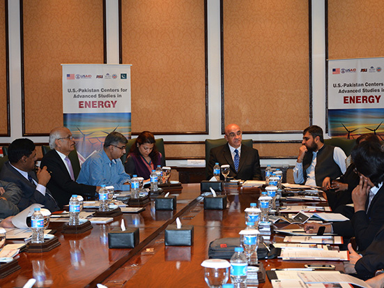 Photo: USPCASE holds stakeholder meeting in Pakistan