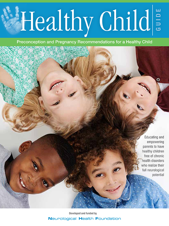 Healthy Child Guide for Preconception and Pregnancy outlines risk-reduction strategies