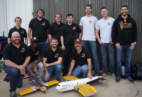 Gaining elevation: Aeronautics team on the rise