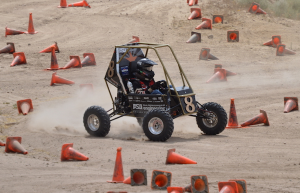Sun Devil Racing Baja team members say they've learned important lessons from hurdles they've faced this year, and are confident about improving their performance in future competitions. Photograph courtesy of Sun Devil Racing Development.