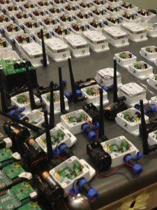ITESM Lab sensor circuits and transceivers.