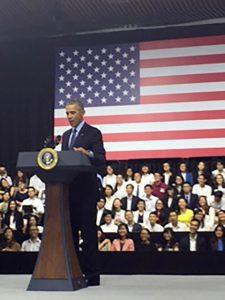 President Obama Vietnam News Conference ASU Southeast Asia