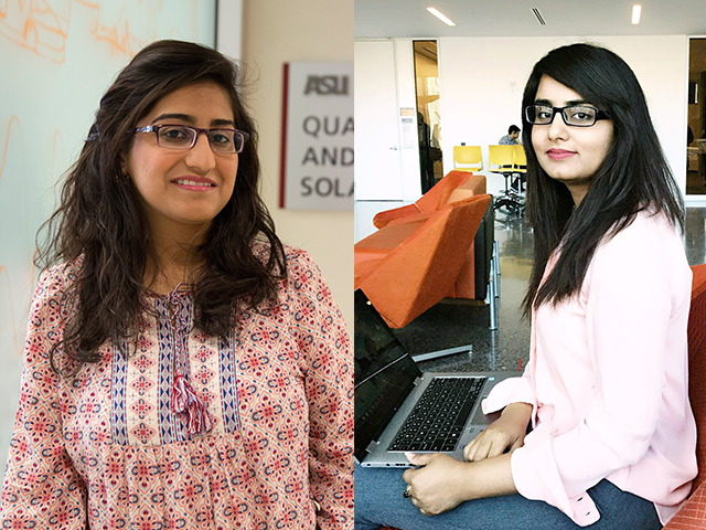 Supportive parents, a hunger for scientific knowledge and progressive academic programs have fueled two Pakistani students' successes in engineering as part of the U.S.-Pakistan Centers for Advanced Studies in Energy (USPCAS-E) program at Arizona State University.