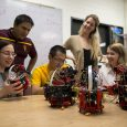 Spring Berman is developing methods to optimize and control collaborative, adaptable swarms of small robots to tackle big problems.