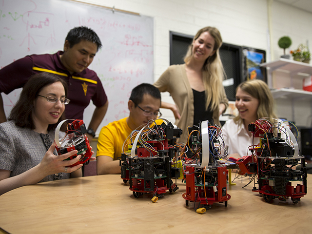 Thinking big with small robots