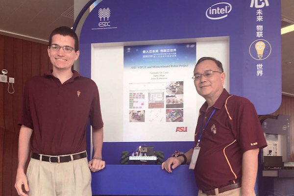ASU team wins first prize at Intel Cup in China