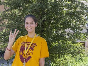 Michelle Burke, class of 2020, Ira A. Fulton Schools of Engineering, Arizona State University, ASU