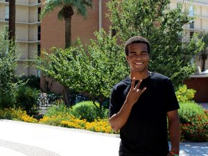 Chris Dlamini, class of 2020, Ira A. Fulton Schools of Engineering, Arizona State University, ASU
