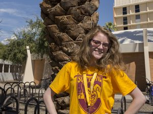 Alexis Wade, class of 2020, Ira A. Fulton Schools of Engineering, Arizona State University, ASU