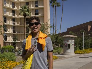 Willy Hua, class of 2020, Ira A. Fulton Schools of Engineering, Arizona State University, ASU