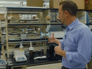 Cody Friesen, an ASU materials science and engineering associate professor, explains the opportunities available in the Avnet Innovation Lab.