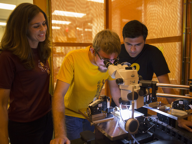 ASU wants its engineers and scientists to build stronger working relationships with the U.S. defense agency that supports research aimed at breakthrough technological advancements.