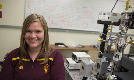 Doctoral student lands NASA Fellowship to develop temperature-regulating coating