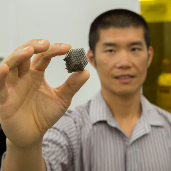 ASU-industry project explores new structural frontier for additive manufacturing