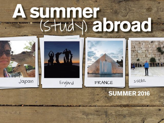 Dozens of students participated in faculty-directed study abroad programs, which are specially designed and led by faculty members in the Fulton Schools.