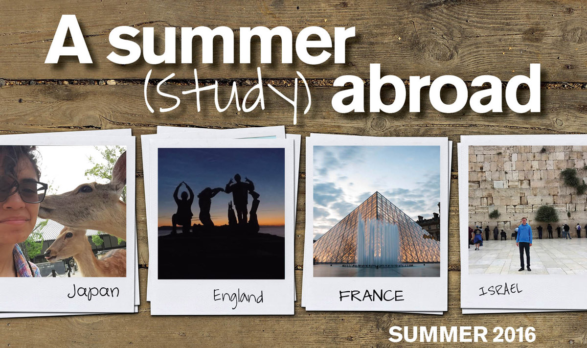 Programs > Featured > Education Abroad