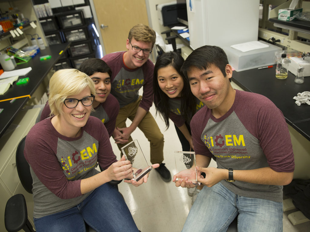 iGEM competition, synthetic biology competition, genetically engineered machines, bacterial communication systems, iGEM Jamboree