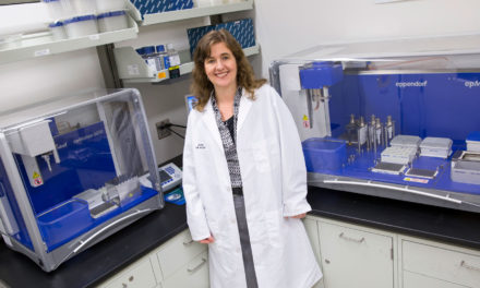 Inside and out, ASU engineer studies the role microbes play in health
