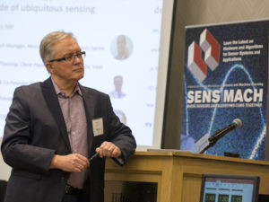 Stephen Whalley, Chief Strategy Officer for MSIG, led a panel discussion on growing demands for information and storage bandwidth during the SENS MACH conference last month.