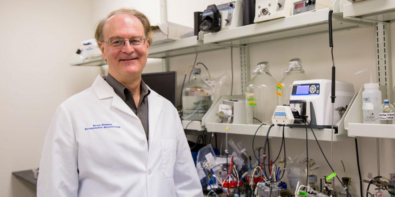 Inventions that clean up water earn Rittmann NAI Fellowship