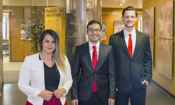 Student engineers take orthopedic startup to international competition
