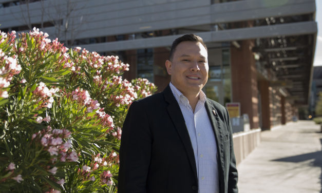 Navajo veteran explores engineering pathways, mentors Native students
