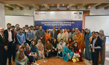 ASU professor leads gender workshop for STEM careers in Pakistan