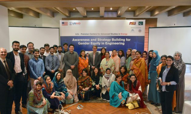 ASU professor leads gender workshop for STEM careers in Pakistan