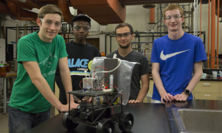 Fulton Schools students build a car and skills with chemistry