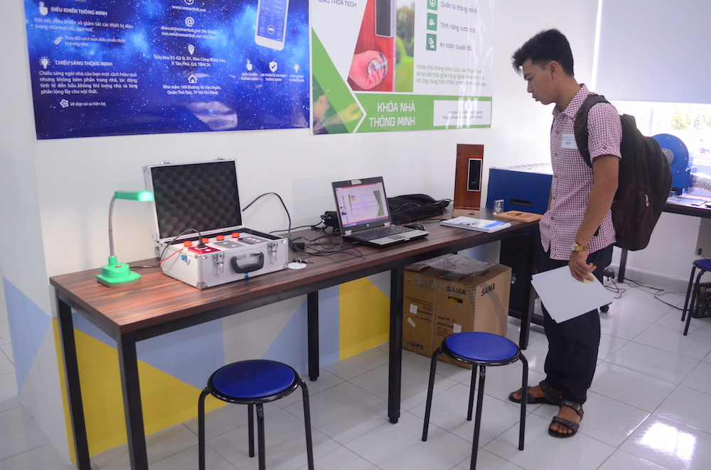 Photo of the inside of the Maker Innovation Space in Ho Chi Minh City's Saigon Hi-Tech Park