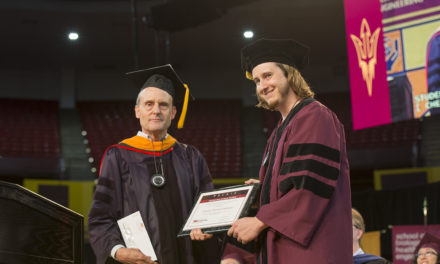 Innovative work with optoelectronics earns Preston Webster Palais Outstanding Doctoral Student award