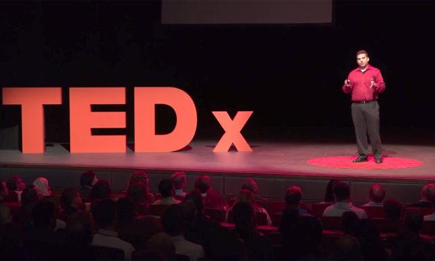 Ted Pavlic urges scholars to be undisciplined in TEDxASU talk