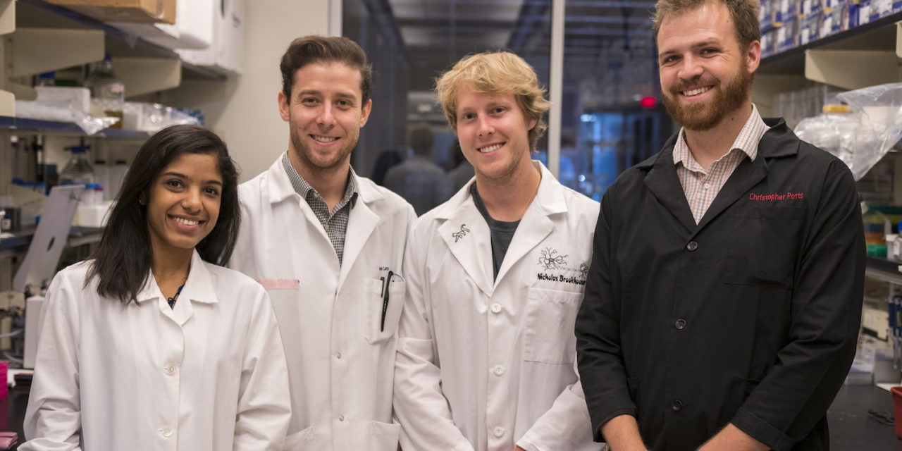 Graduate students' lab skills help to earn funding for cutting-edge biomedical research