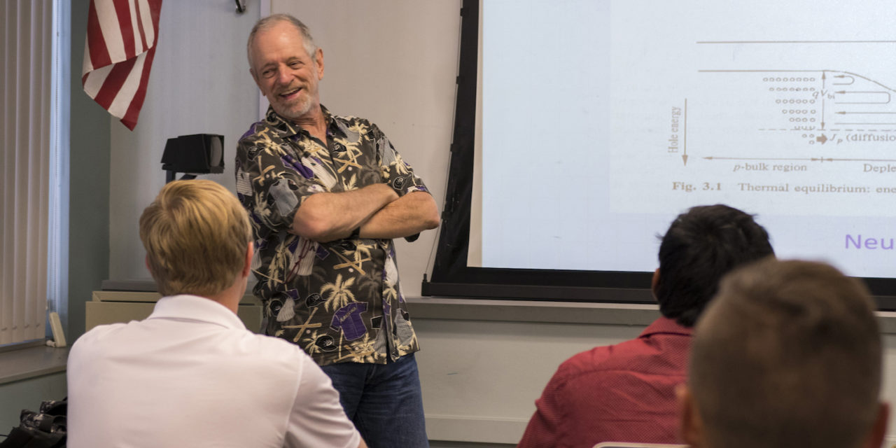Comeback story: Roedel's return after retirement has boosted solar energy engineering education