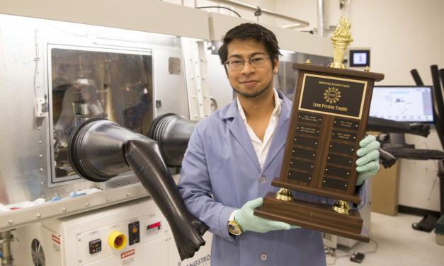QESST student wins NSF's Perfect Pitch Competition