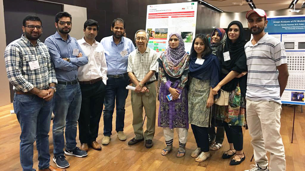 USPCAS-E scholars in it to win at Arizona Student Energy Conference