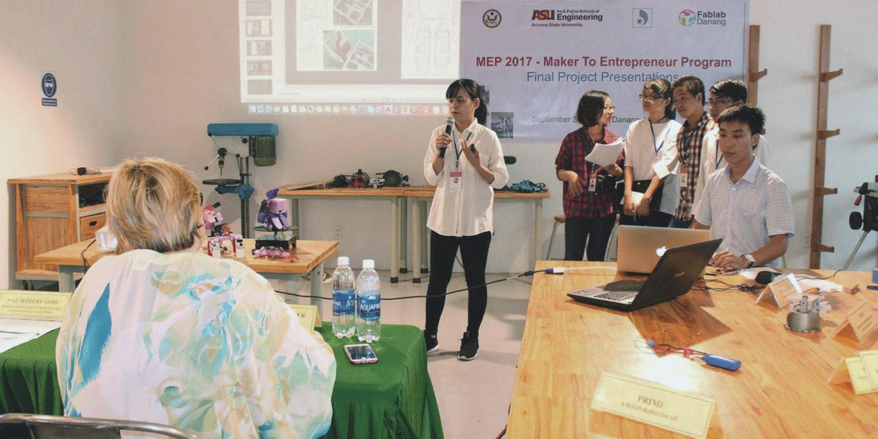 Arizona State University supports Vietnamese student entrepreneurship competition